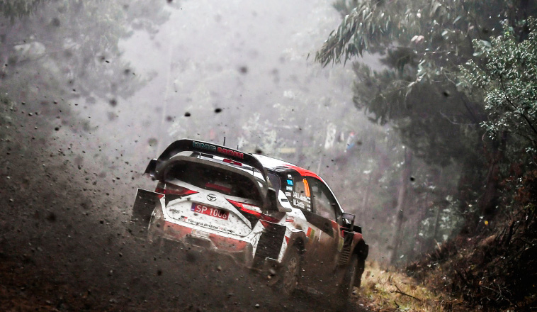 WRC: Tanak al frente en Chile