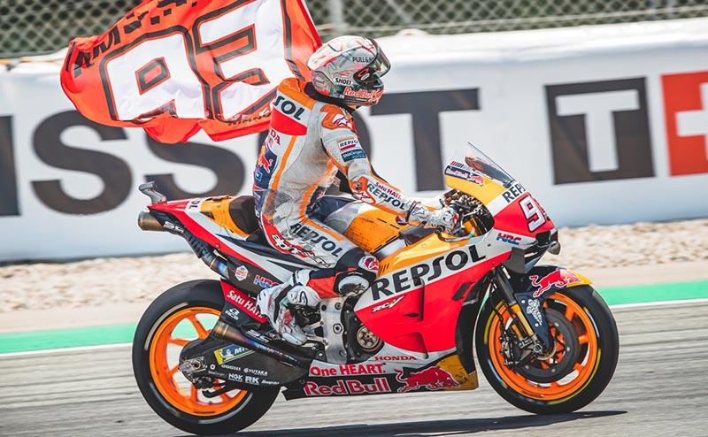 MotoGP: Márquez hizo valer la localía
