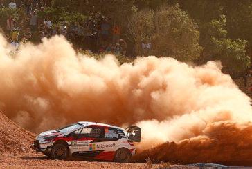 WRC: Latvala se coloca al frente del Rally de Italia-Cerdeña
