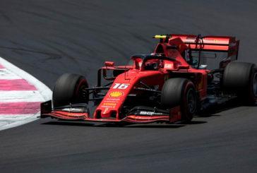Fórmula 1: Leclerc se lleva la accidentada segunda tanda de libres en el Red Bull Ring
