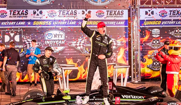 Indy Car: Victoria en Texas para Newgarden