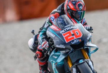 MotoGP: Quartararo marca el ritmo en una FP1 con duras caídas