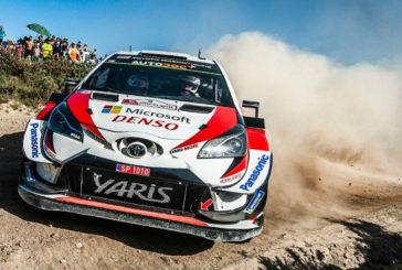 WRC: Tänak se aferra al liderazgo en Portugal