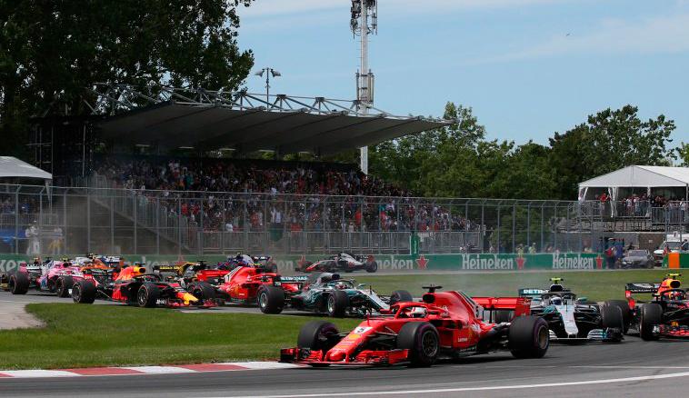 Fórmula 1: Com mucha polémica, Hamilton se lleva la victoria
