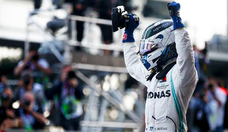 Fórmula 1: Doblete de Mercedes en los Libres2