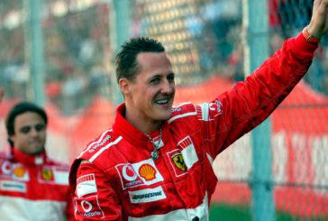 Fórmula 1: Michael Schumacher mejora y ve la F1 por TV