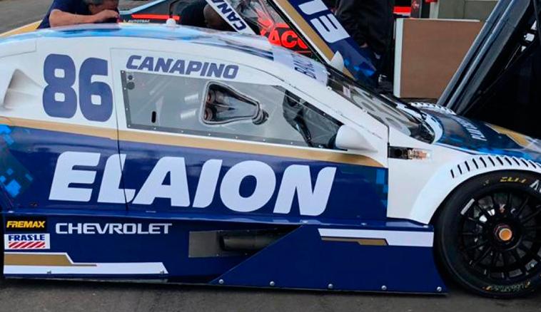 Stock Car: Canapino logró el pueso 11 en la primera y abandonó en la segunda