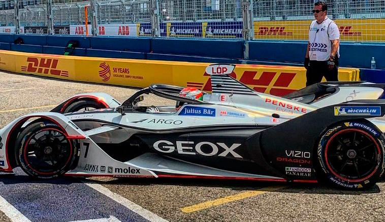 Fórmula E: «Pechito» llegó 7mo en la clasificación