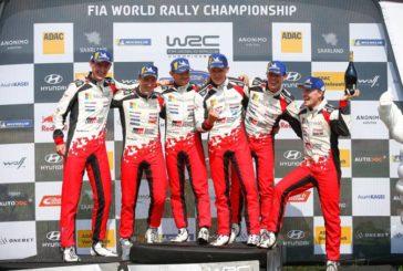 WRC: Tänak gana en Alemania