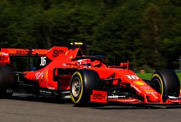 Fórmula 1: Leclerc domina los Libres 2 con más de medio segundo sobre Vettel