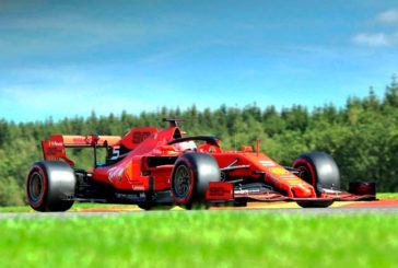 Fórmula 1: Ferrari marca el ritmo en los primeros libres de Bélgica