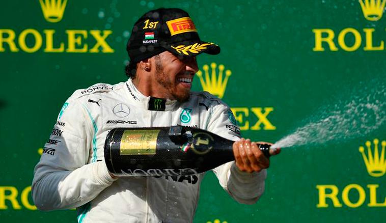 Fórmula 1: Victoria estratégica de Hamilton en Hungría