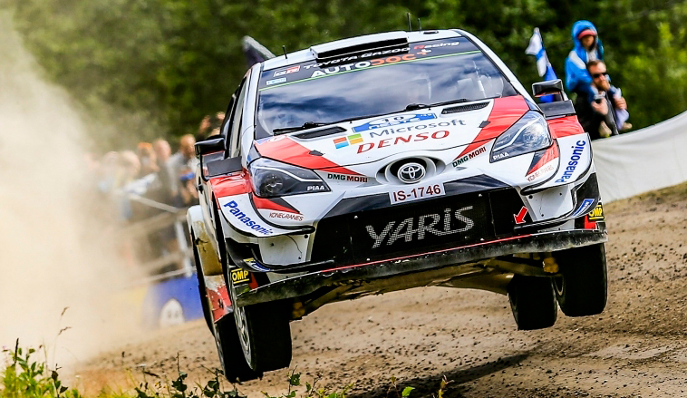 WRC: Latvala es líder por la mínima