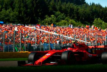 Fórmula 1: Leclerc y Ferrari dominan la clasificación