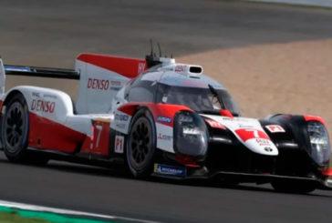WEC: Pole de «Pechito» López, con doblete de Toyota, en las 4 Horas de Silverstone