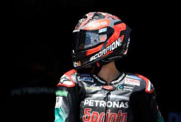 MotoGP: Quartararo resurge para llevarse el mejor tiempo del día en Brno