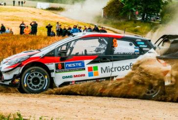 WRC: Tänak amplia la ventaja