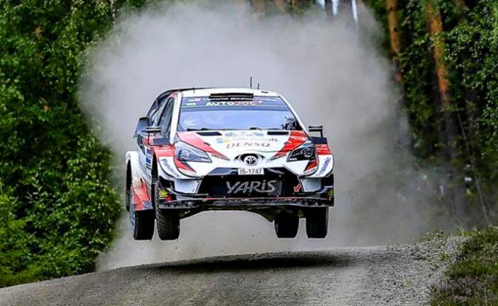 WRC: Tänak no afloja en Finlandia