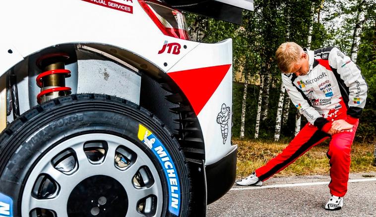 WRC: Ott Tänak domina el shakedown en Finlandia