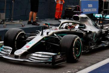 Fórmula 1: Multa para Mercedes y Hamilton en Singapur