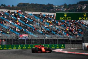 Fórmula 1: Leclerc empieza marcando el ritmo en Rusia
