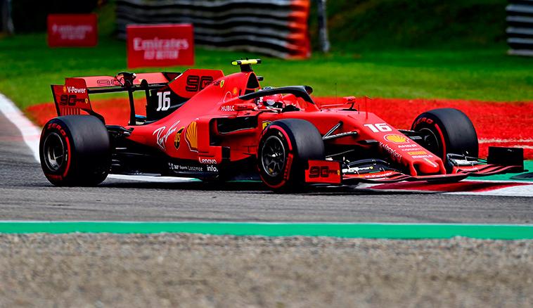 Fórmula 1: Pole de Leclerc en Monza