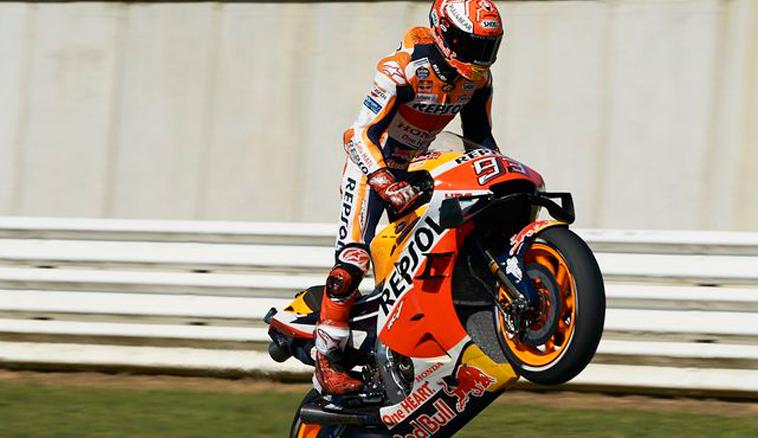 MotoGP: Márquez pone el Mundial a tiro tras vencer en Misano