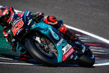 MotoGP: Quartararo arrancó arriba