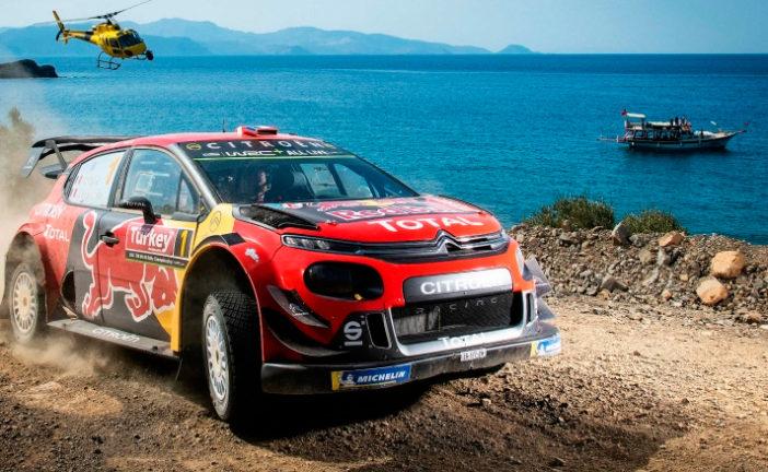 WRC: Ogier al acecho en Turquía