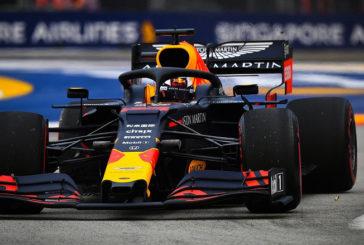Fórmula 1: Verstappen lidera los primeros entrenamientos del GP de Singapur