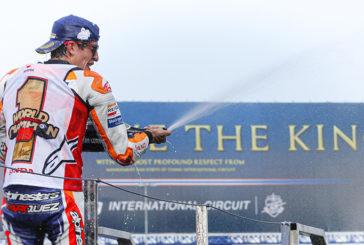 MotoGP: Márquez agiganta su leyenda