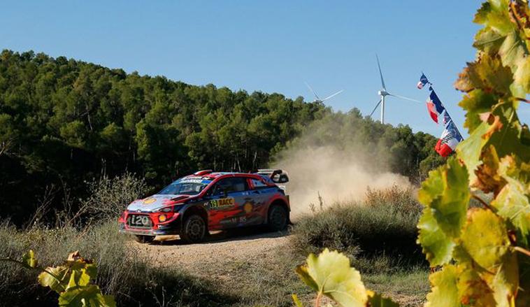 WRC: Loeb le arrebata a Sordo el liderazgo en Cataluña