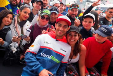 Super Bike: Arrancó la actividad en San Juan