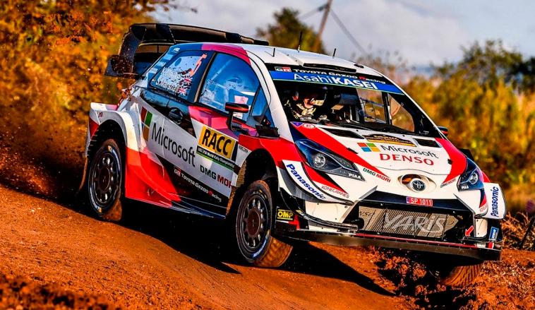 WRC: Meeke lidera el Shakedown de España