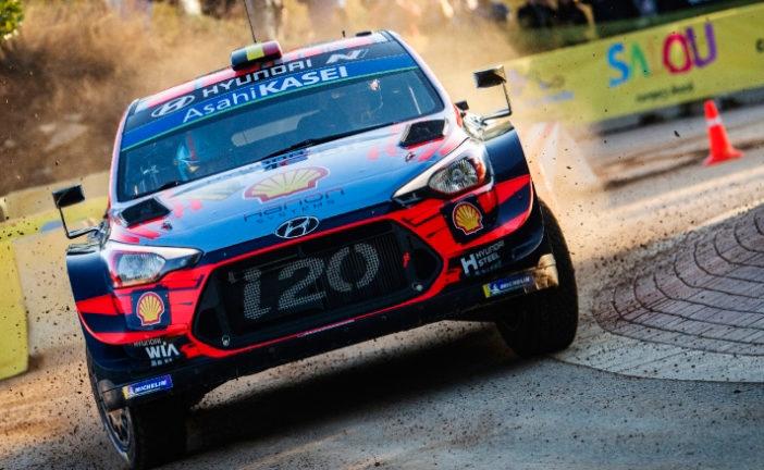 WRC: Neuville recupera el liderazgo