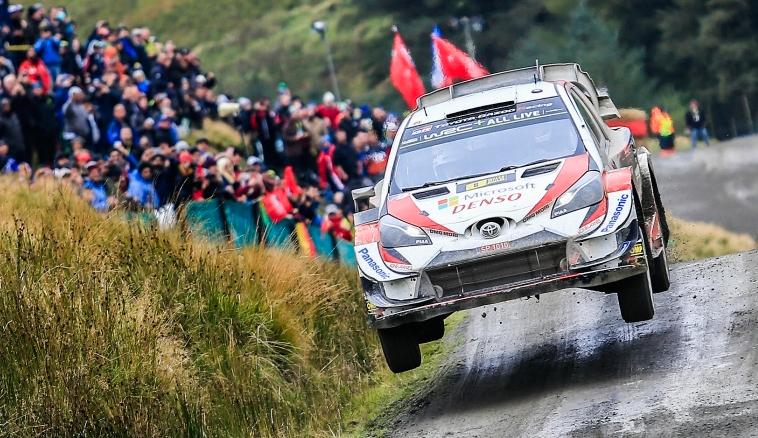 WRC: Tänak domina el sábado en Gales