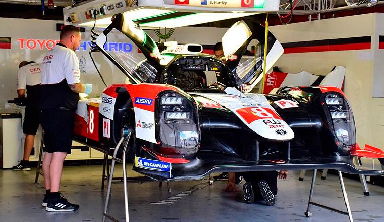 WEC: El Toyota Nº8 marca el ritmo en Fuji