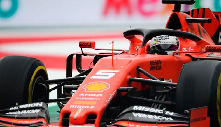 Fórmula 1: Vettel coloca a Ferrari como favorita en los Libres 2
