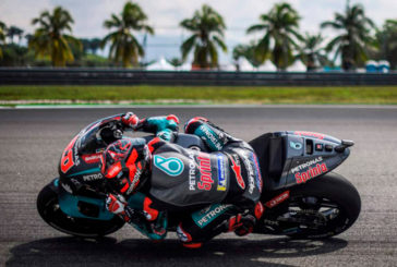 MotoGP: Quartaro volvió a volar en Sepang