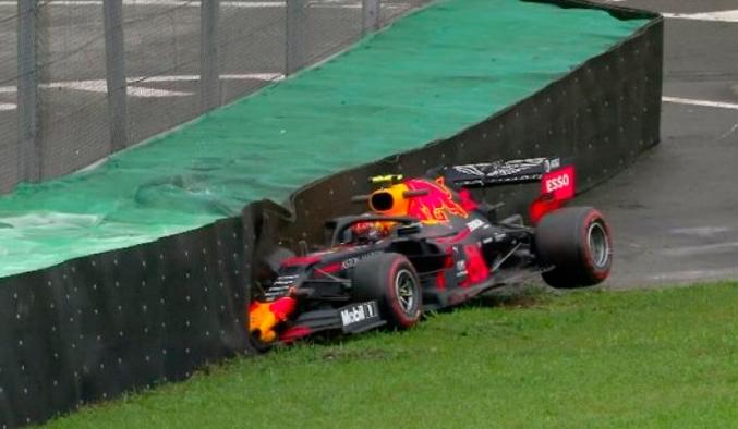 Fórmula 1: Albon se queda con los Libres1 y se accidenta