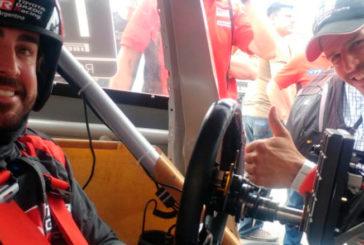 STC2000: Alonso probó el Corolla