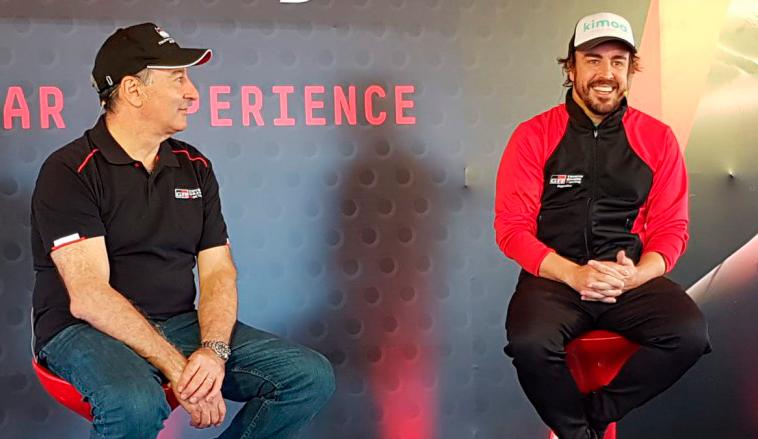 Alonso ya está en Argentina para probar el Toyota Corolla del Super TC2000
