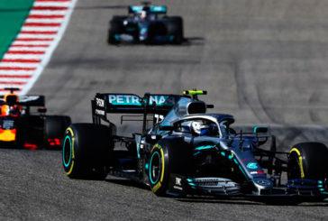 Fórmula 1: Bottas conquista Austin y Hamilton, su sexto Mundial