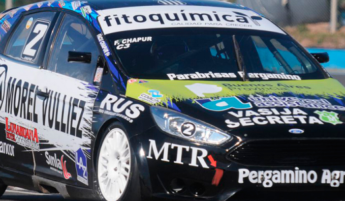 TN C3: Chapur logra la pole en Rosario