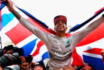 Fórmula 1: Lewis Hamilton, seis veces campeón!