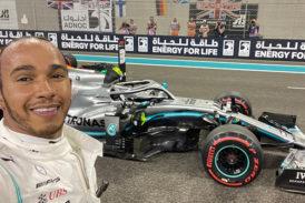 Fórmula 1: Hamilton cierra la temporada 2019 con una victoria perfecta