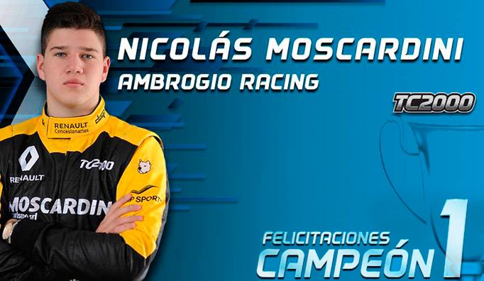 TC2000: Moscardini se consagra campeón