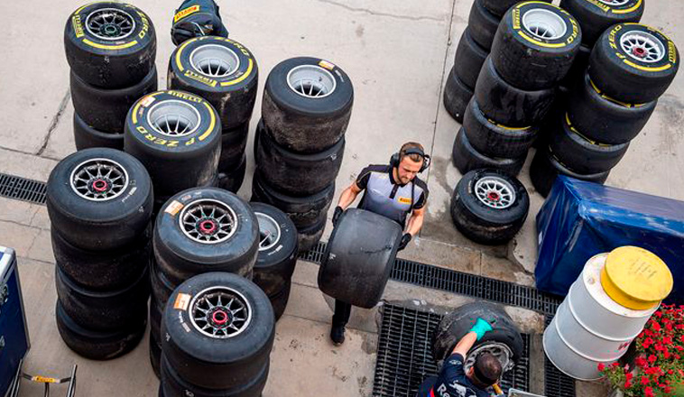 Fórmula 1: La FIA cambia de opinión respecto a los neumáticos 2020