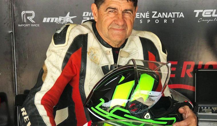 René Zanatta buscará el récord de velocidad en moto en Rafaela