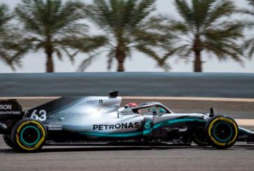 Fórmula 1: George Russell manda en el 2º día de test